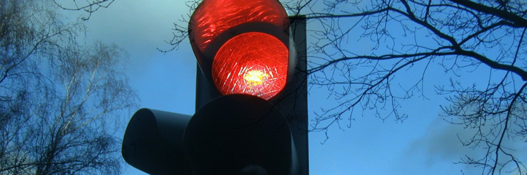 California red light camera ticket