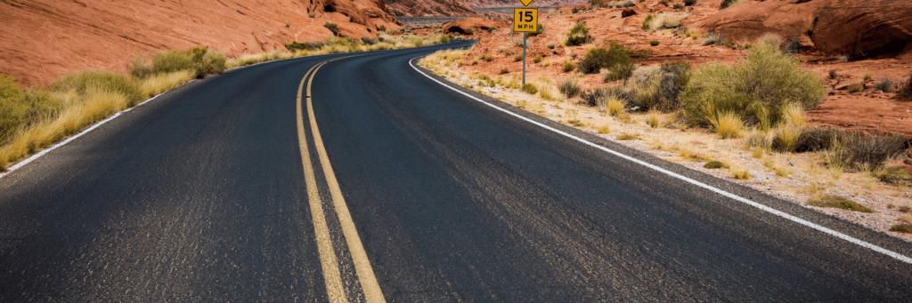 California two lane highway