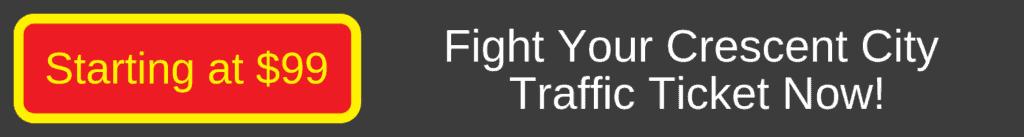 fight crescent city traffic ticket
